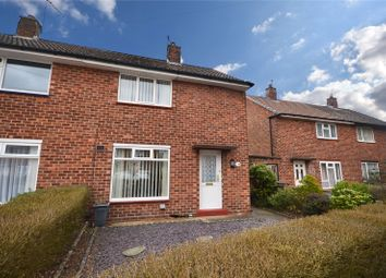 Thumbnail 2 bed semi-detached house for sale in Walford Drive, Lincoln, Lincolnshire