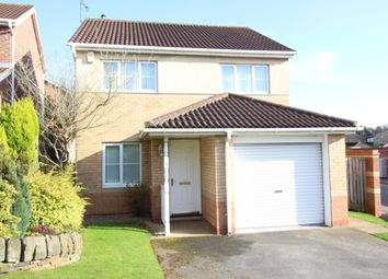 Thumbnail 3 bed detached house for sale in Wellesley Close, Worksop