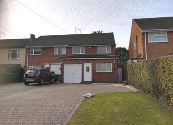 Thumbnail 3 bed semi-detached house for sale in Aqueduct Road, Shirley, Solihull, West Midlands
