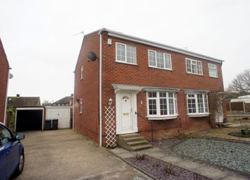 Thumbnail 3 bedroom semi-detached house to rent in Sunlea Crescent, Stapleford, Nottingham