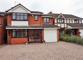 Thumbnail 4 bed detached house for sale in Chell Close, Penkridge, Stafford