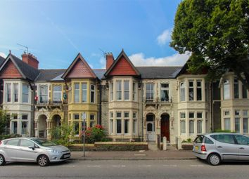 Thumbnail 4 bed terraced house to rent in Shirley Road, Roath, Cardiff