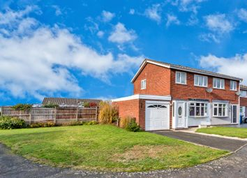Thumbnail 3 bed semi-detached house for sale in Huntsmans Rise, Huntington, Cannock