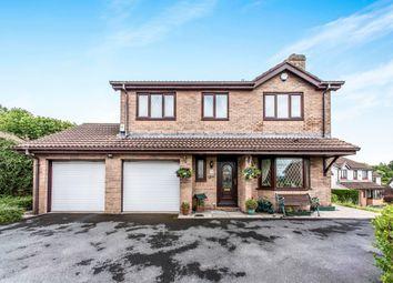 Thumbnail 4 bed detached house for sale in Clos Sant Teilo, Llangyfelach, Swansea