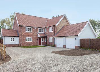 Thumbnail 5 bed detached house for sale in Attleborough Road, Caston, Attleborough
