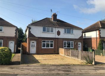 Thumbnail 2 bed semi-detached house for sale in Croft Road, Cosby, Leicestershire