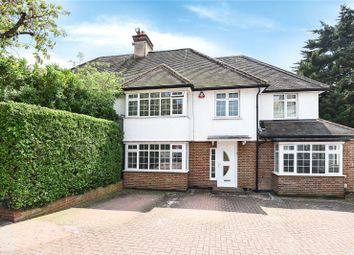 Thumbnail 4 bedroom semi-detached house for sale in Edgwarebury Gardens, Edgware