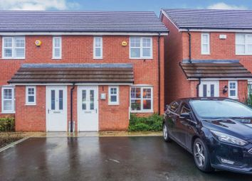 Thumbnail 2 bed end terrace house for sale in Meadows Drive, Birmingham