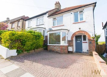 Thumbnail 3 bed semi-detached house for sale in Sharpthorne Crescent, Portslade, East Sussex