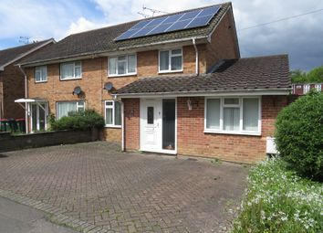 Thumbnail 5 bed semi-detached house for sale in Rushetts Road, Crawley