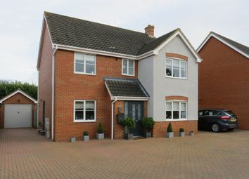 Thumbnail 4 bedroom detached house for sale in Tantallon Drive, Attleborough