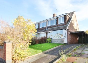 Thumbnail 3 bed semi-detached house for sale in Long Hey, Whiston, Prescot