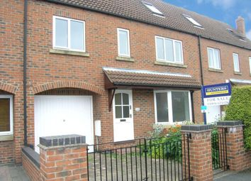 Thumbnail 4 bed town house to rent in Moorland Road, Fulford, York
