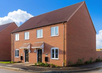 Thumbnail 3 bed semi-detached house for sale in Snowdrop Avenue, Newark, Notts