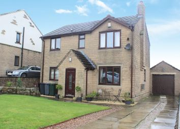 Thumbnail 4 bed country house for sale in Heatherlands Avenue, Denholme, Bradford, West Yorkshire