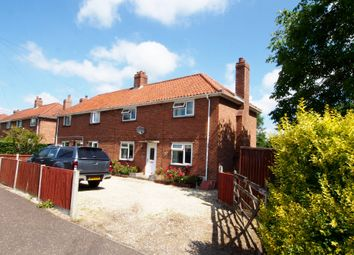 Thumbnail 3 bedroom semi-detached house for sale in West Way, Tacolneston, Norwich