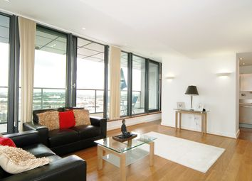 Thumbnail 3 bed flat to rent in Neutron Tower, 6 Blackwall Way, London