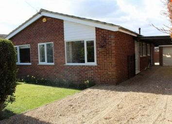 Thumbnail 3 bed bungalow to rent in Brigham Close, Brundall, Norwich