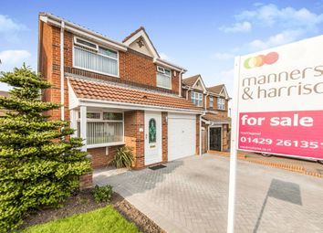 Thumbnail 3 bed detached house for sale in Talland Close, Hartlepool