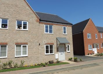 Thumbnail 3 bed semi-detached house to rent in Stonechat Road, Bodicote, Banbury