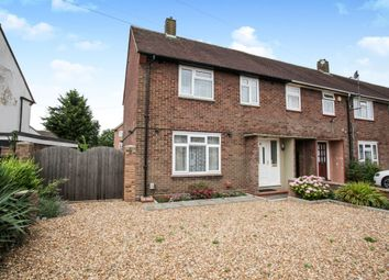 Thumbnail End terrace house for sale in Northdrift Way, Luton