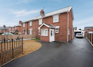 Thumbnail 2 bed semi-detached house for sale in Harwoods Lane, Rossett, Wrexham