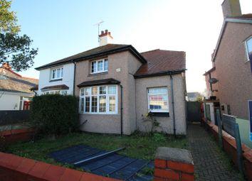 Thumbnail 3 bed semi-detached house for sale in Marine Road, Prestatyn, Denbighshire