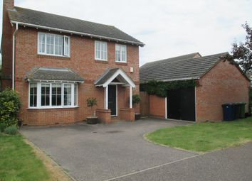 Thumbnail 4 bed detached house to rent in Coxs End, Over, Cambridge