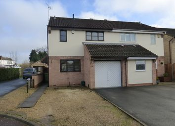 Thumbnail 3 bed semi-detached house for sale in Stevans Close, Longford, Gloucester