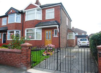 Thumbnail 3 bed semi-detached house for sale in Greeba Avenue, Warrington