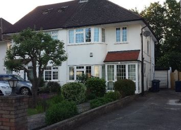 Thumbnail 4 bed semi-detached house to rent in Mill Ridge, Edgware