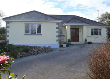 Thumbnail 4 bed detached bungalow for sale in Lowertown, Helston, Cornwall