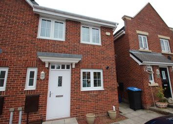 Thumbnail 2 bed end terrace house for sale in Arkless Grove, The Grove, Consett