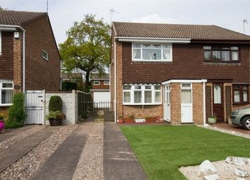 Thumbnail 2 bed semi-detached house for sale in Radstock Road, Sneyd Park, Willenhall, West Midlands