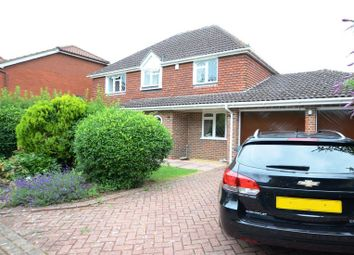 Thumbnail 4 bed detached house to rent in Forbes Chase, College Town, Sandhurst