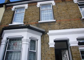 Thumbnail 3 bed terraced house to rent in Hall Road, London