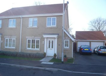 Thumbnail 3 bed semi-detached house to rent in Willowherb Close, March, Cambs