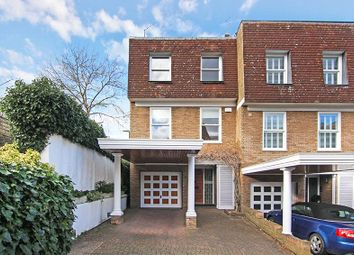 Thumbnail 4 bed end terrace house for sale in Welford Place, Wimbledon