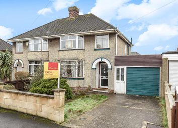 Thumbnail 3 bed semi-detached house for sale in Cowley, Oxford