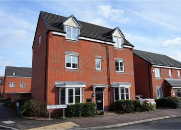 Thumbnail 4 bed detached house for sale in Long Swath Way, Birstall