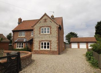 Thumbnail 5 bed detached house for sale in Trunch, North Walsham, Norfolk