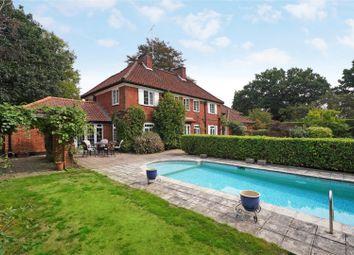 Thumbnail 5 bed detached house for sale in Burstead Close, Cobham, Surrey