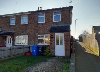 Thumbnail 2 bed semi-detached house to rent in Dickens Drive, Kettering