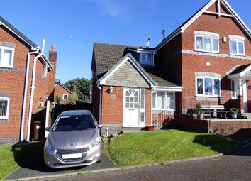 Thumbnail 2 bedroom semi-detached house for sale in Kingsmead, Chorley