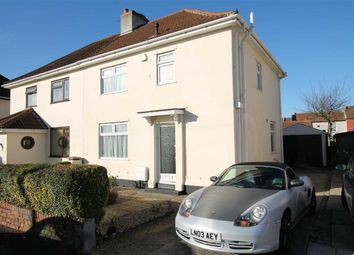 Thumbnail 3 bedroom semi-detached house for sale in Pembroke Avenue, Shirehampton, Bristol
