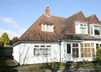 Thumbnail Semi-detached house for sale in Barnhorn Road, Little Common, Bexhill