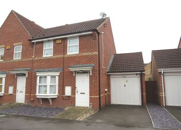 Thumbnail 2 bed semi-detached house for sale in Scobell Close, Shinfield, Reading