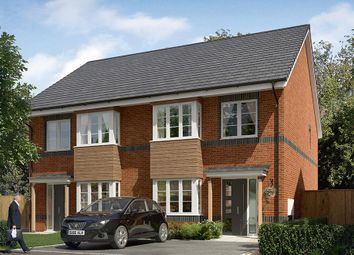 "Thumbnail 3 bed semi-detached house for sale in ""The Kilmington "" at Cobblers Lane, Pontefract"