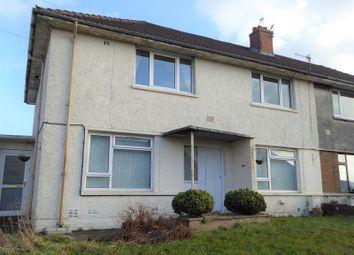 Thumbnail 2 bedroom flat for sale in Heol-Y-Mynydd, Sarn, Bridgend.