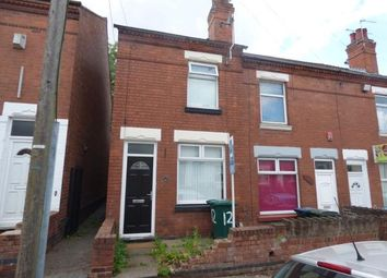 Thumbnail 2 bed end terrace house for sale in Augustus Road, Coventry, West Midlands